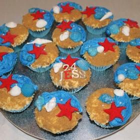 Beach 2 Cupcakes