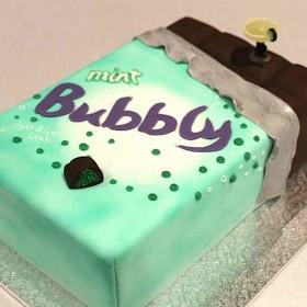 Bubbly Chocolate Bar