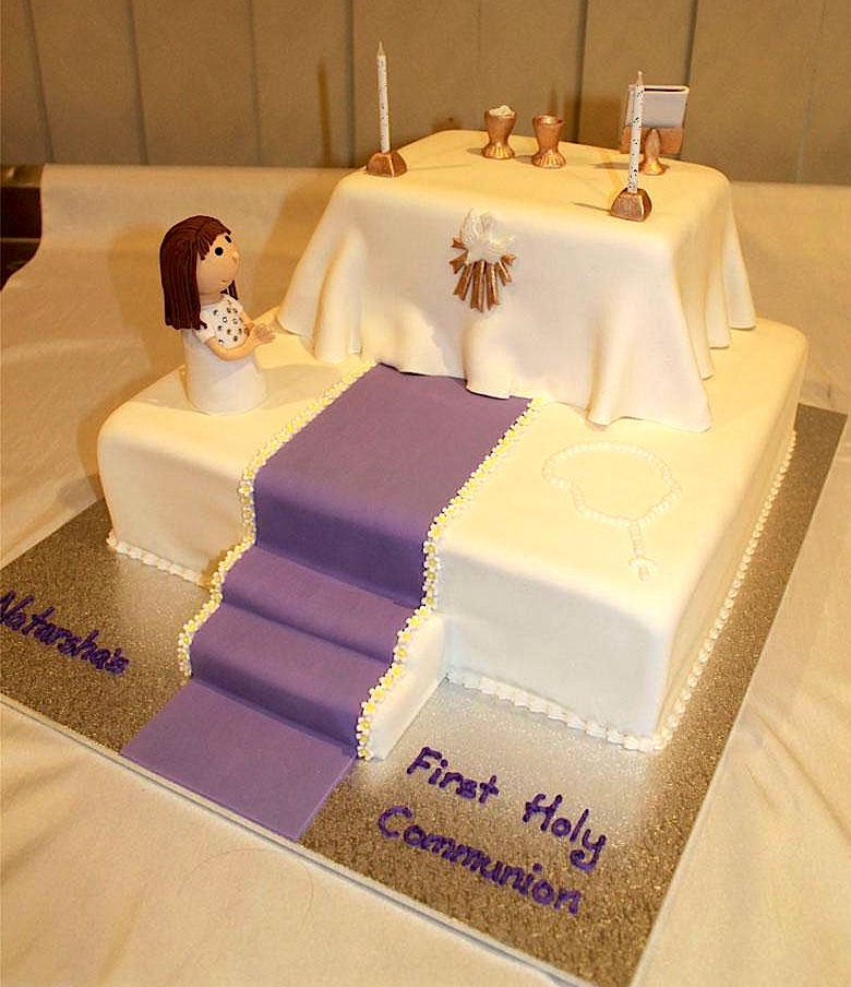 Communion Cake Bliss