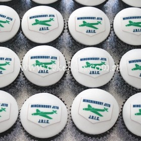 Minchinbury Jets Cupcakes