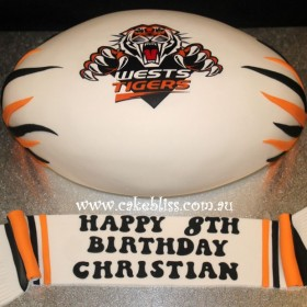 West Tigers 3D Ball