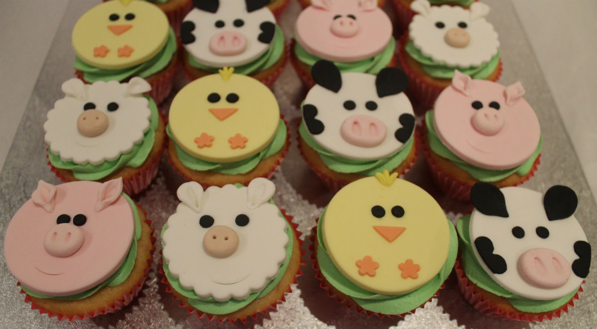 Farm Animal Cupcakes on Latest Copy On Write