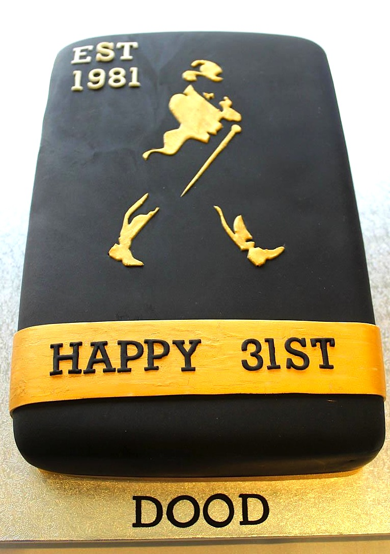 Johnnie Walker Cake Designs