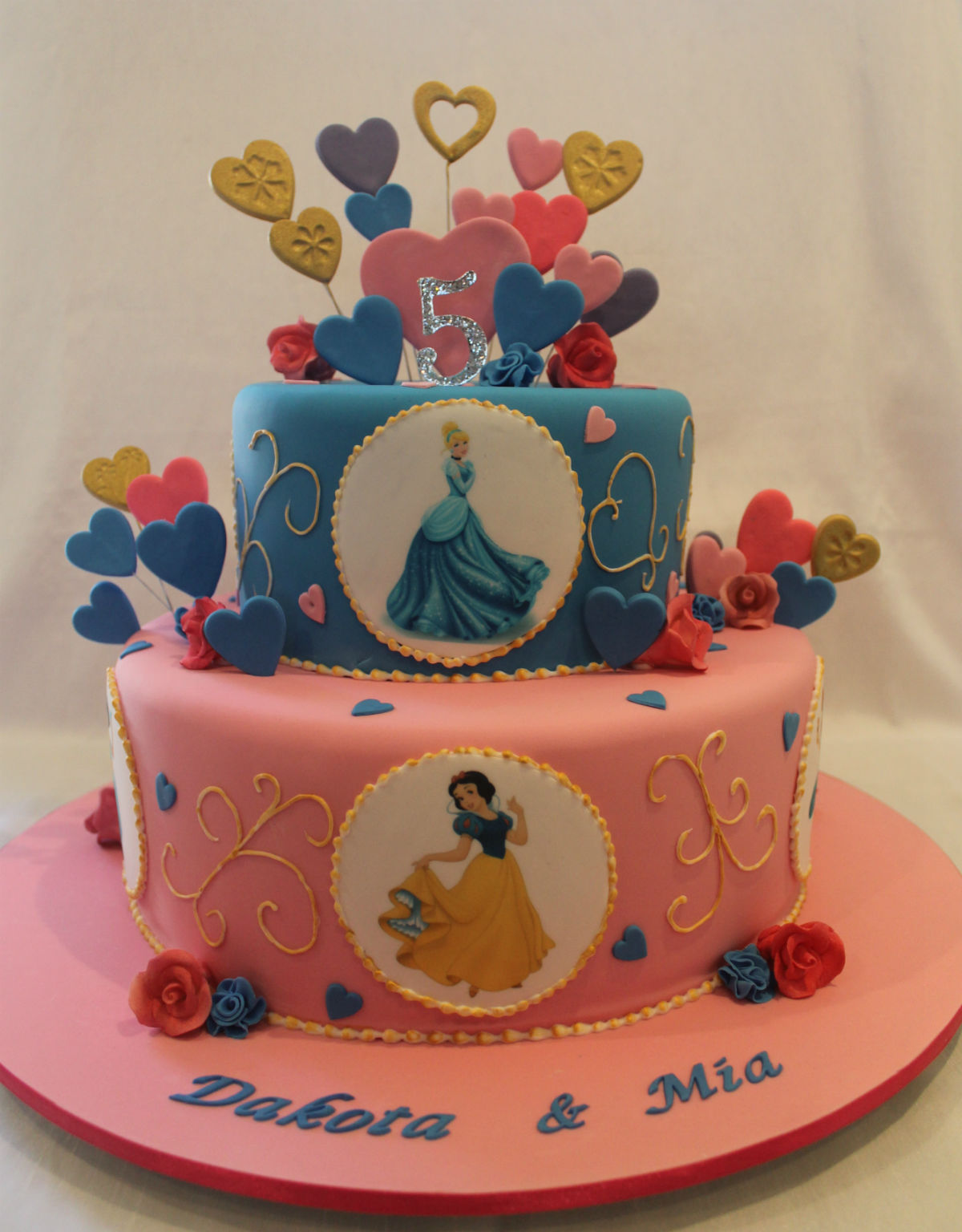 Amazing Princess Cake Bliss Funny Birthday Cards Online Aeocydamsfinfo